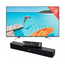 Smart Tv 65 PUNKTAL + Home Theater Barra Sonido Bluetooth Bose