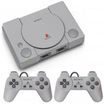 Consola play station classic color gris