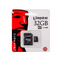 Memoria Microsd 32gb Kingston Clase10 Con Adaptador. Oferta
