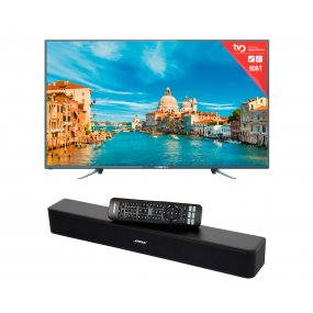 Smart Tv 32 Punktal + Home Theater Barra Sonido Bluetooth Bose