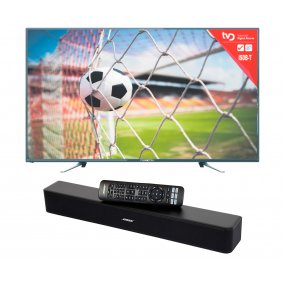 Smart Tv 40 Punktal + Home Theater Barra Sonido Bluetooth Bose