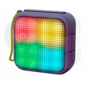 Parlante portatil Energy Sistem bt beat box 2 cubo luminoso