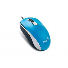 Mouse Optico Genius Dx-110 Azul Usb Para Pc Notebook