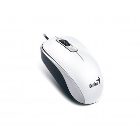 Mouse Optico Genius Dx-110 Blanco Usb Para Pc Notebook