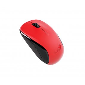 Mouse Optico Genius Nx-7000 Rojo Inalambrico Para Pc Notebook