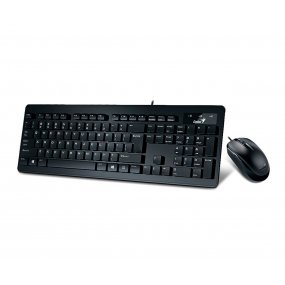 Combo Teclado + Mouse Genius Usb Slim Star C130