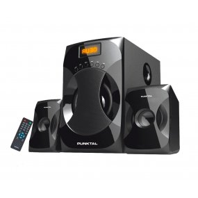 Parlantes 2.1 Home Punktal Ht95 Bluetooth
