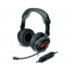 Auriculares Microfono Gamer Genius Hs-g500V Pc Notebook
