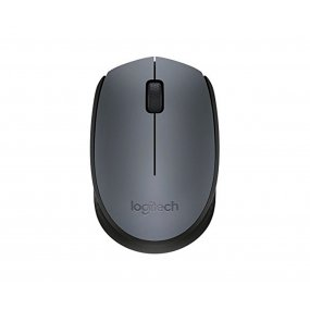 Mouse Optico Logitech Negro Inalambrico Para Pc Notebook