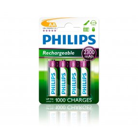 Pilas Recargables Philips Aa Pack X 4 2700 Mah Super Oferta