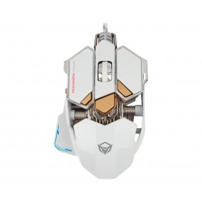 Mouse Gamer Gaming Meetion M990 White Usb Optico 6666FPS